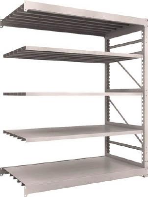 TRUSCO M10型重量棚 1800X900XH2100 5段 連結 NG M107695B(OP:NG)/1S【5091608】