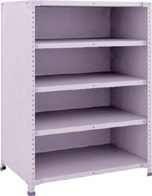 TRUSCO 軽量150型背側板付棚 900X600XH1200 5段 TLA43L25/1台【2835100】