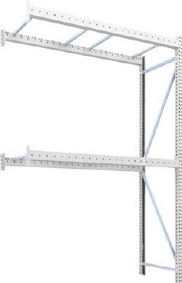 TRUSCO パレットラック1トン用2300X900XH3500 2段 連結 1D35B23092B/1台【4591704】【運賃別途】