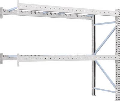TRUSCO 重量パレット棚2トン2300×900×H2000連結 2段 2D20B23092B/1台【4591828】【運賃別途】
