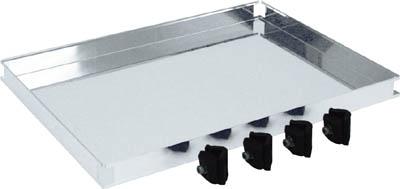 TRUSCO ステンレス製導電性ワゴン用棚板 750X450 TT32T/1台【4628829】【運賃別途】