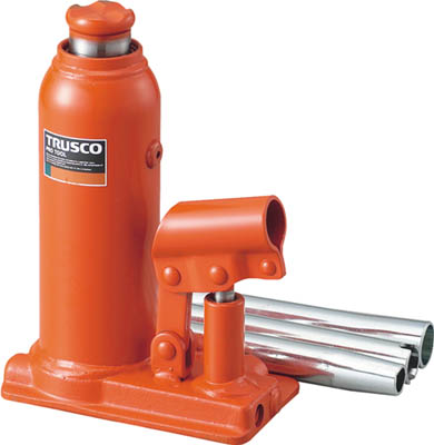 TRUSCO 油圧ジャッキ 7トン TOJ7/1台【2882191】