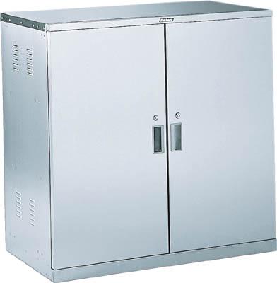 TRUSCO 耐震薬品庫 両開型 棚スライド式 900X500XH900 SWT/1台【5106583】