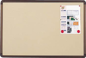 TRUSCO ブロンズ掲示板 900X1200 ベージュ YBE34SBM/1枚【2845695】