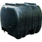 ダイライト YB型 黒色 ローリータンク 1300L YB1300/1台【4649621】 【個人宅配送不可商品】