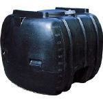 ダイライト YB型 黒色 ローリータンク 1000L YB1000/1台【4649613】 【個人宅配送不可商品】
