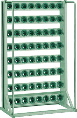 TRUSCO ツーリングラック BT・NT50兼用 64個収納 ロック付 VTL88/1台【2661403】【運賃別途】
