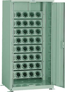 TRUSCO ツーリング保管庫 ホルダ40個 スチール戸 ロック付 BT50 VTL1500D(OP:BT50)/1S【5104335】【運賃別途】