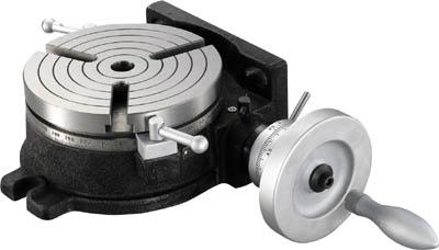 TRUSCO ロータリーテーブル外径200mm HV8/1台【1228170】