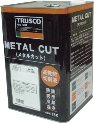 TRUSCO メタルカット ソリュブル油性型 18L MC50S/1缶【1230204】
