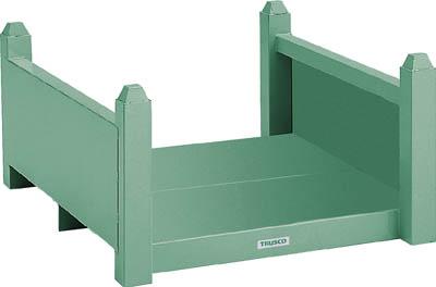 TRUSCO 積み重ね式長尺保管棚 800X800X590 VRB6560/1台【5023599】