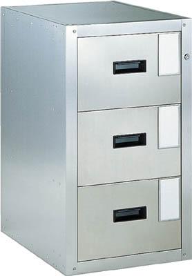 TRUSCO 耐震薬品庫 455X600XH800 3段引出型 SY3/1台【5106541】