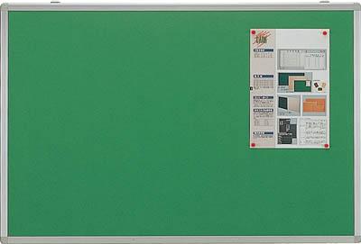 TRUSCO エコロジークロス掲示板 ピン専用 900X1200 グリーン KE34SG/1枚【5204534】