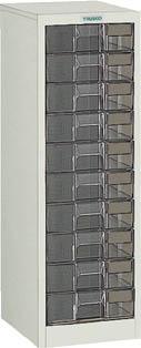 TRUSCO カタログケース 深型1列10段 295X360XH880 A1C10/1台【5045185】【運賃別途】