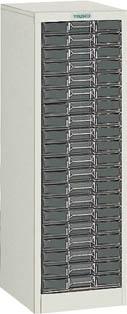 TRUSCO カタログケース 浅型1列20段 295X360XH880 A1C20/1台【5046254】【運賃別途】