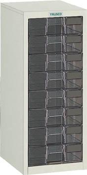 TRUSCO カタログケース 深型1列8段 315X400XH700 LB1C8/1台【5045096】【運賃別途】