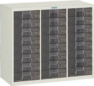 TRUSCO カタログケース 深型3列8段 885X400XH700 LB3C8/1台【5045266】【運賃別途】