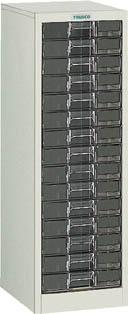 TRUSCO カタログケース 中深型1列15段 315X400XH880 B1C15/1台【5045746】【運賃別途】