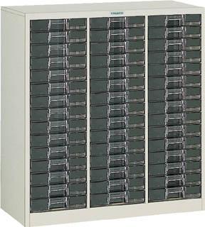 TRUSCO カタログケース 中深型3列15段 885X400XH880 B3C15/1台【5045967】【運賃別途】