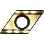 富士元 60°モミメン専用チップ 超硬K種 TiNコーティング D43GUX(OP:NK5050)/12個【2087961】
