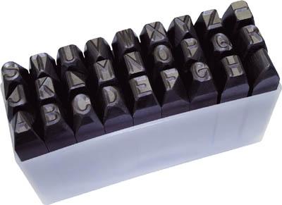 非常に高い品質 逆英字刻印セット 8mm SKC80/1S【2285304】:タニックスショップ 店 TRUSCO-DIY・工具