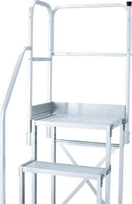 TRUSCO 作業用踏台用手すり 階段片手すり天場二方 TSF51015用 TSFTE15/1S【3817717】
