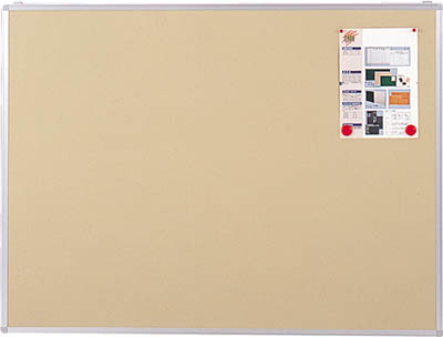 TRUSCO エコロジークロス掲示板 900X1800 ベージュ KE36SBM/1枚【2815681】