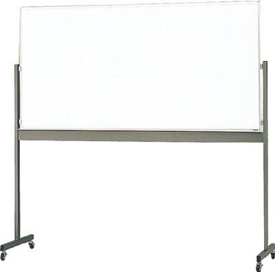TRUSCO 片面移動ボード スチール製ホワイトボード 白暗線 900X1800 MG402A/1台【5204399】