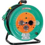 日動 電工ドラム 防雨防塵型100Vドラム アース付 30m NWE33/1台【1255860】