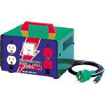 日動 変圧器 昇圧器ハイパワー 2KVA アース付タイプ ME20/1台【1257609】