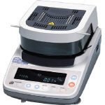 A&D 加熱乾燥式水分計 最小質量表示0.001g MX50/1台【4565525】