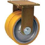 シシク 重荷重用キャスター 固定 150径 ウレタン車輪 BSDGTH150K35/1個【4660471】【運賃別途】