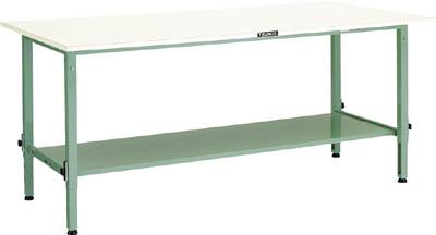 春新作の TRUSCO AEM型高さ調節作業台 1800X900 下棚2枚付 下棚2枚付 AEM1809LT2/1台【4667638】, 仁多郡:95cb5c48 --- totem-info.com
