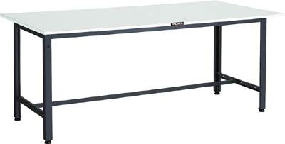 TRUSCO LEWR型作業台 1800X900XH740 LEWR1809/1台【4671350】 【個人宅配送不可】