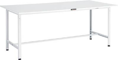 TRUSCO RAE型作業台 1800X600XH740 W色 RAE1860 W/1台【4672232】 【個人宅配送不可】