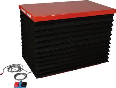 TRUSCO スーパーFAリフター500kg 電動式 1350X750 蛇腹付 HFA500713J/1台【4644280】