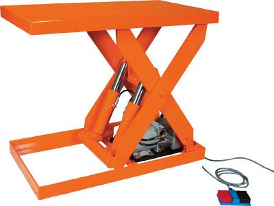 TRUSCO テーブルリフト1000kg 油圧式 500X900 HDL1000509/1台【4642627】