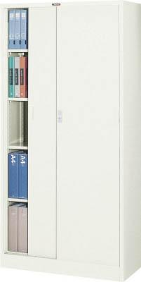 TRUSCO スタンダード書庫(D400) スチール引違 880XH1790 N603D/1台【5207754】【運賃別途】