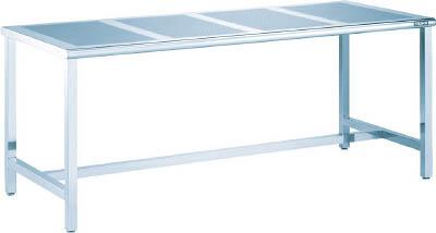 TRUSCO パンチングテーブルSUS304 1500X700 #400 PTB1570/1台【4588444】