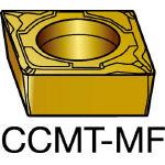 サンドビック コロターン107 旋削用ポジ・チップ 1105 CCMT 09 T3 04MF(OP:1105)/10個【6005977】