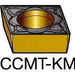 サンドビック コロターン107 旋削用ポジ・チップ 3210 CCMT 12 04 08KM(OP:3210)/10個【6182259】