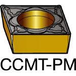 サンドビック コロターン107 旋削用ポジ・チップ 1525 CCMT 09 T3 04PM(OP:1525)/10個【6034110】