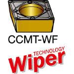 サンドビック コロターン107 旋削用ポジ・チップ 1125 CCMT 09 T3 04WF(OP:1125)/10個【6068651】