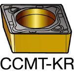 サンドビック コロターン107 旋削用ポジ・チップ 3210 CCMT 12 04 08KR(OP:3210)/10個【6182283】