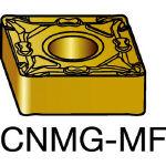 サンドビック TMax P 旋削用ネガ・チップ 1105 CNMG 12 04 04MF(OP:1105)/10個【6006272】