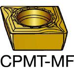 サンドビック コロターン111 旋削用ポジ・チップ 1125 CPMT 06 02 02MF(OP:1125)/10個【6068821】
