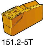 サンドビック TMax Qカット 突切り・溝入れチップ 1125 N151.24008405T(OP:1125)/10個【6075088】