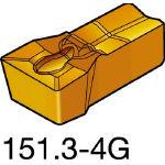 サンドビック TMax Qカット 突切り・溝入れチップ 1125 N151.3200204G(OP:1125)/10個【6075126】