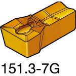 サンドビック TMax Qカット 突切り・溝入れチップ 3020 N151.3400307G(OP:3020)/10個【6075169】