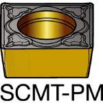 サンドビック コロターン107 旋削用ポジ・チップ 5015 SCMT 09 T3 04PM(OP:5015)/10個【6076114】